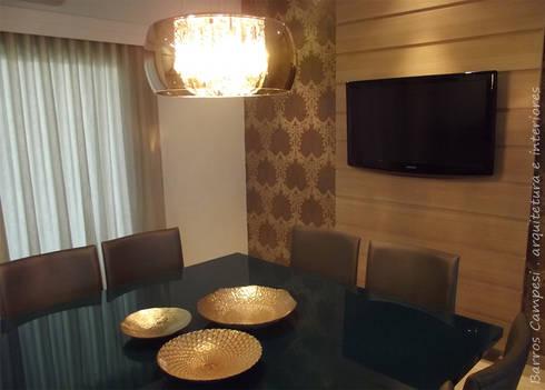 Sala de Jantar: Salas de jantar modernas por Barros Campesi Arquitetura