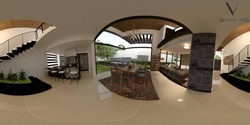 Vista 360°:  de estilo  por V Arquitectura