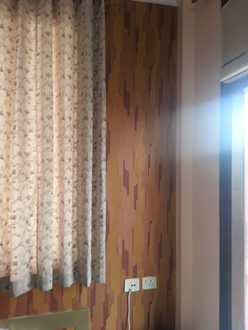 Residential Apartment, Delhi: colonial Bedroom by Decor At Door