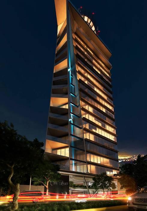 AVANT ARQ: Casas de estilo moderno por AVANT ARQ