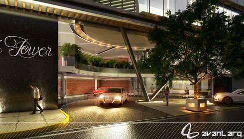 AVANT ARQ: Jardines de estilo moderno por AVANT ARQ