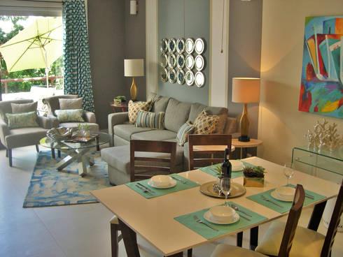 James Grey Interiors: Salas de estilo moderno por James Grey interiors