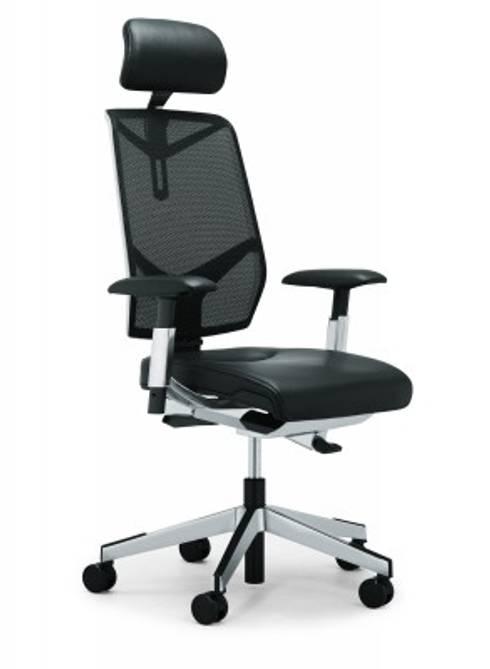 Bürostuhl mit Netzrücken:  Arbeitszimmer von ProSitzen + Wohnen - Leben mit Komfort
