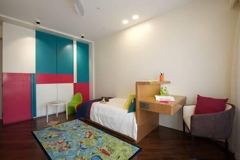 AA Apartment: modern Nursery/kid's room by Atelier Design N Domain