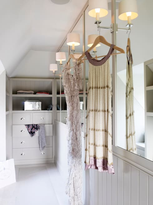 eclectic Dressing room by Studio Duggan