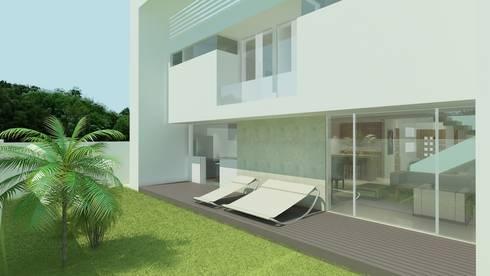 Reserva de las Animas: Jardines de estilo moderno por CouturierStudio