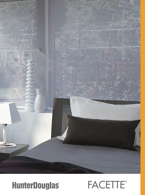 Facette®: Recámaras de estilo minimalista por Dekorier Interiores