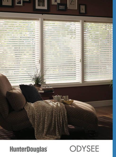 Odysee: Recámaras de estilo minimalista por Dekorier Interiores