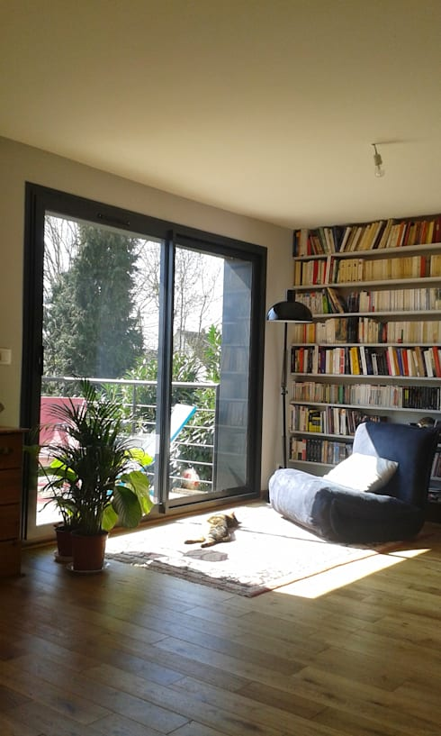 Salas de estar modernas por AADD+
