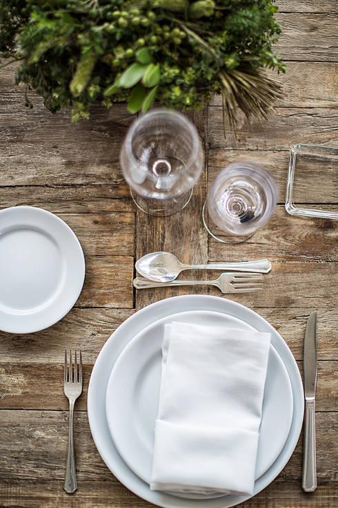 Moor Mobiliario: Cocina de estilo  por MOOR Event Rentals & Planning