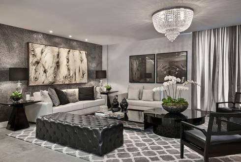 Decora Lider Salvador - Living urbano: Salas de estar modernas por Lider Interiores