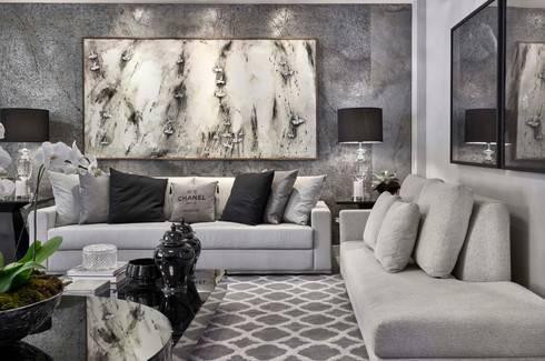 Decora Lider Salvador – Living urbano: Salas de estar modernas por Lider Interiores