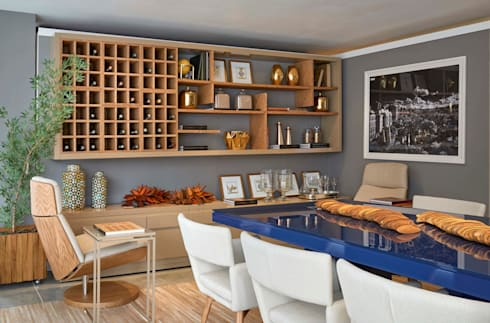 Decora Lider Salvador - Sala de Jantar Contemporânea: Salas de jantar modernas por Lider Interiores