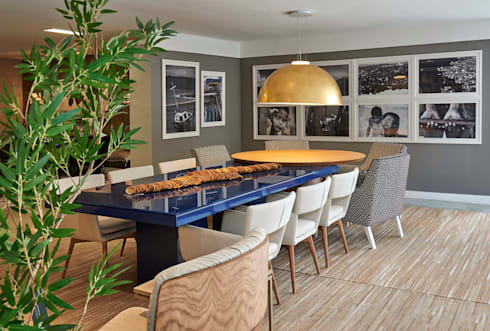 Decora Lider Salvador – Sala de Jantar Contemporânea: Salas de jantar modernas por Lider Interiores