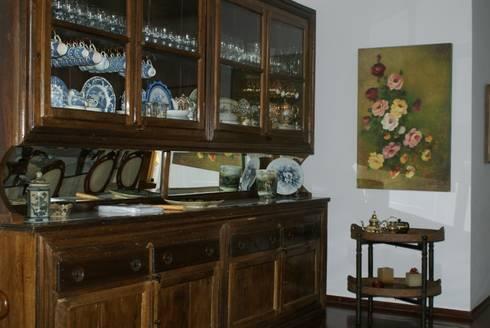 Residência C&M | Alphaville | São Paulo: Salas de jantar clássicas por Daniela Zuffo Arquitetura e Interiores
