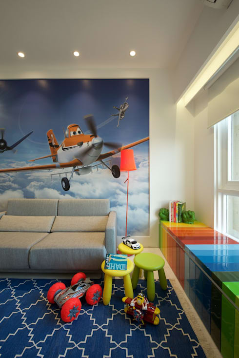 NG Apartment : modern Nursery/kid's room by Atelier Design N Domain