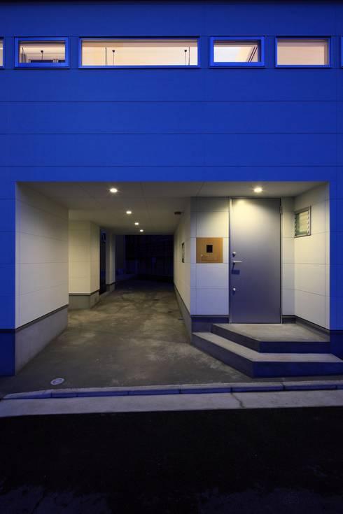 Rumah by 田原泰浩建築設計事務所