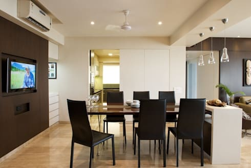 AS Apartment : modern Dining room by Atelier Design N Domain