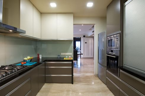 AS Apartment : modern Kitchen by Atelier Design N Domain