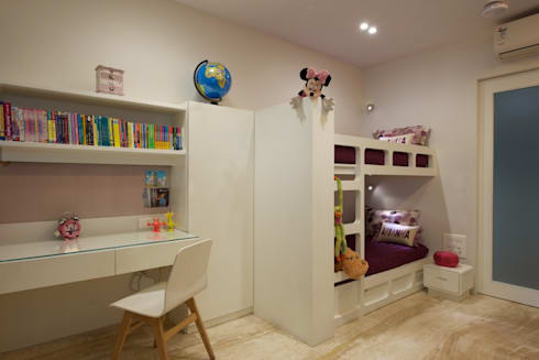 AS Apartment : modern Nursery/kid's room by Atelier Design N Domain