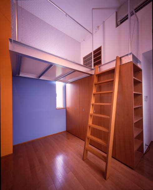 子供部屋: Guen BERTHEAU-SUZUKI  Co.,Ltd.が手掛けた寝室です。