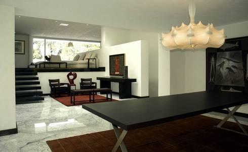 Corporativo: Salas de estilo moderno por Olivia Aldrete Haas