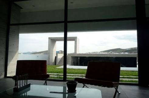CASA TG : Casas de estilo moderno por planeta diseño + construcción SA de CV