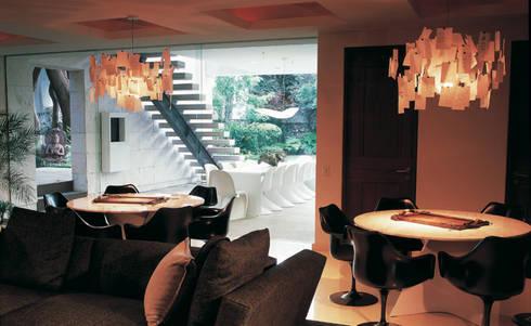 Residencia Agua: Salas de estilo moderno por Olivia Aldrete Haas