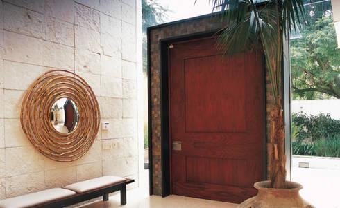 Residencia Agua: Casas de estilo moderno por Olivia Aldrete Haas