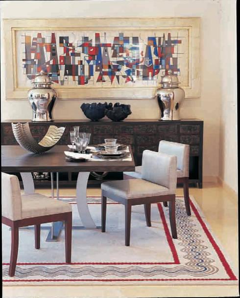 Residencia Agua: Comedores de estilo moderno por Olivia Aldrete Haas