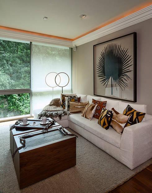 Salas de estilo  por Olivia Aldrete Haas