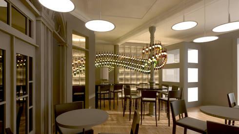 Projecto Bar / Restaurante: Espaços de restauração  por Lendas e Detalhes, Lda