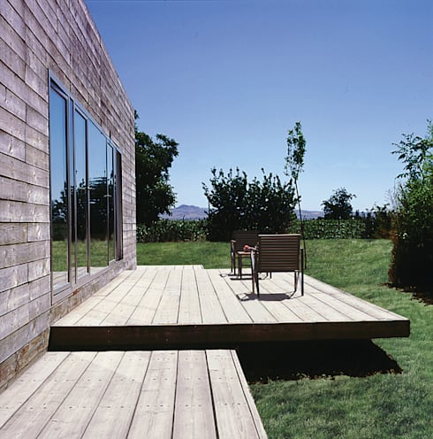 Casas de estilo  por MARTIN MARTIN ARQUITECTOS