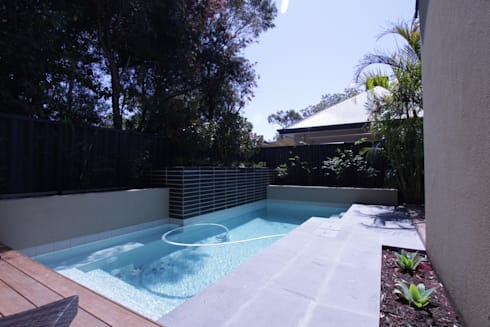 Applecross Project: tropical Pool by Project Artichoke