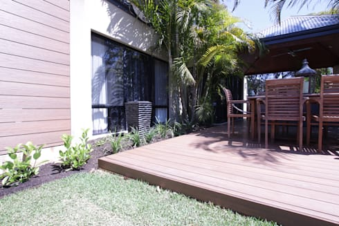 Applecross Project: tropical Garden by Project Artichoke