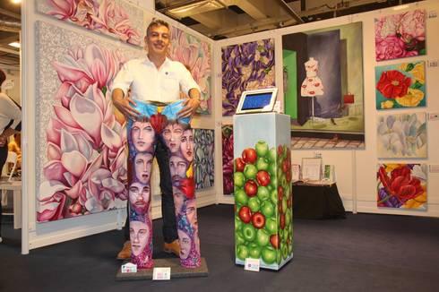 """Exposición Internacional de Arte """"ARTISTES DU MONDE"""" 2015, Cannes - Francia: Arte de estilo  por Filiberto Montesinos"""