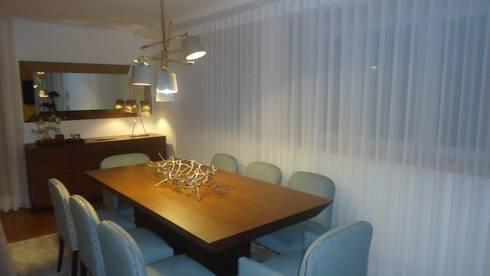 Sala Jantar:   por Artespaço - Sara Maria Sequeira Gomes Soc. Unip. Lda.