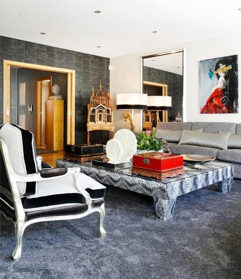 Sala de estar/ Sitting Room: Salas de estar modernas por 3L, Arquitectura e Remodelação de Interiores, Lda