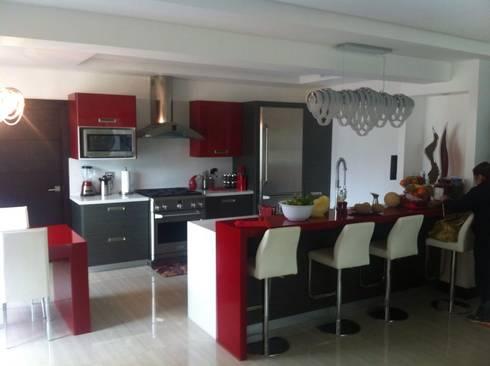 Cocinas: Cocina de estilo  por Wicho
