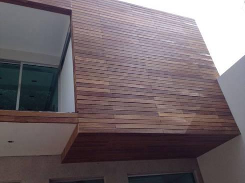 La Casa del Diseño: Casas de estilo moderno por La Casa del DiseÑo