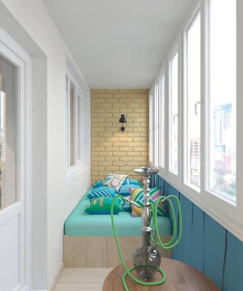 Terrace by Студия дизайна Виктории Силаевой
