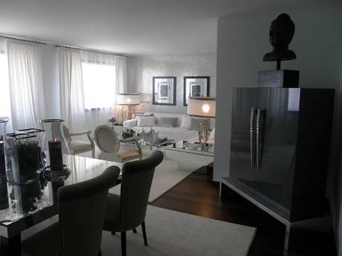 Sala de estar: Salas de estar modernas por 3L, Arquitectura e Remodelação de Interiores, Lda