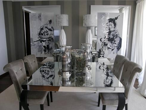 Sala de jantar: Salas de jantar modernas por 3L, Arquitectura e Remodelação de Interiores, Lda