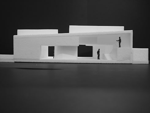 Casa sul Lago: Casas modernas por LOLA