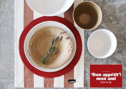 LOIÇA AO KG: Cozinha  por Entre Led e Design