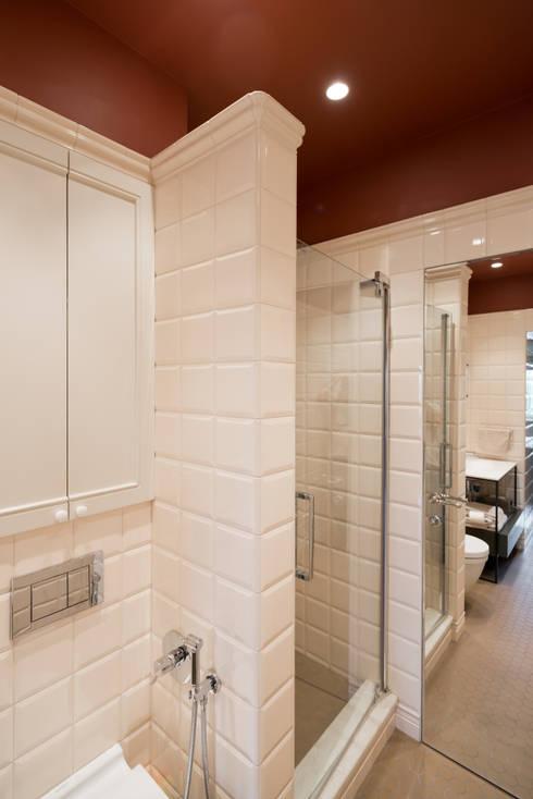 Фрунзенская 24: Ванные комнаты в . Автор – KA