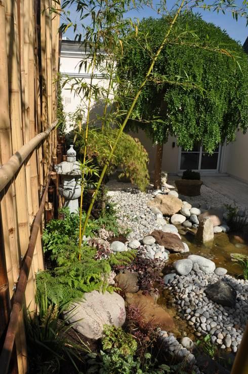 Projekty,  Ogród zaprojektowane przez Taffin