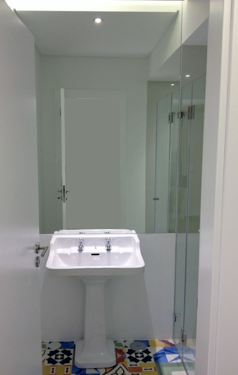 The project finished (bathroom):   por Roberto Mulassano