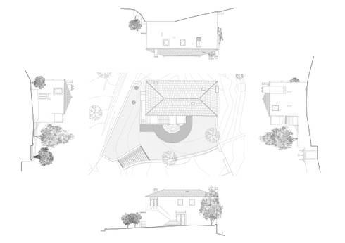 Reabilitação Casa da Ramada, Regilde:   por ProjectO2R