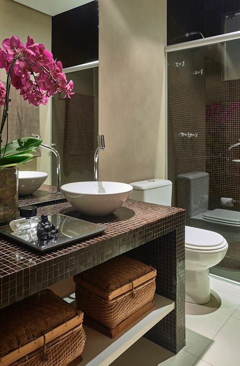 Baños de estilo  por Isabela Canaan Arquitetos e Associados